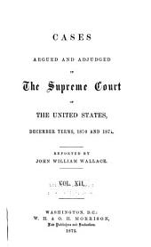 United States Reports: Cases Adjudged in the Supreme Court, Volume 79