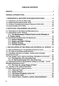 Theology of Suffering and Cross in the Life and Works of Blessed Edith Stein PDF