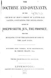 The Doctrine and Covenants of the Church of Jesus Christ of Latter day Saints PDF