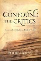 Confound the Critics PDF