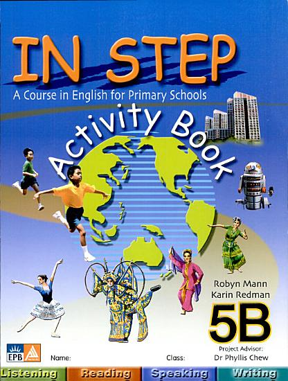 In Step   A Course in English for Primary Schools Activity Book 5B PDF