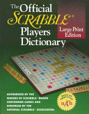 The Official Scrabble Players Dictionary Book