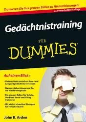 Ged  chtnistraining f  r Dummies PDF