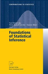 Foundations of Statistical Inference: Proceedings of the Shoresh Conference 2000
