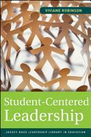 Student Centered Leadership PDF