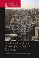 Routledge Handbook of International Political Sociology PDF