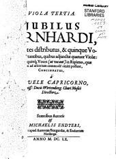 Iubilus Bernhardi: Stuttgart : Capricornus; Nürnberg : Endter 1660
