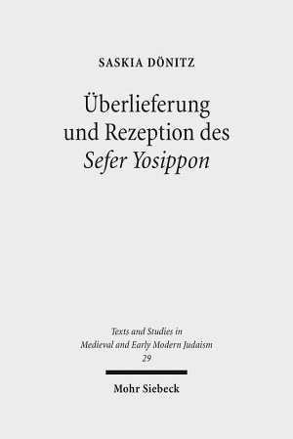 berlieferung und Rezeption des Sefer Yosippon PDF