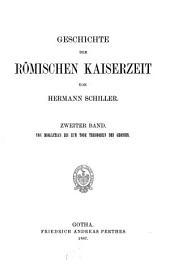 Geschichte der römischen Kaiserzeit: Von Diokletian bis zum Tode Theodosius des Grossen