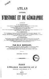 Atlas universel d'histoire et de géographie contenant ... par M.N. Bouillet