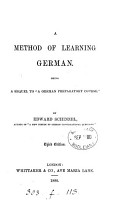 A method of learning German  Sequel to  A German preparatory course   PDF