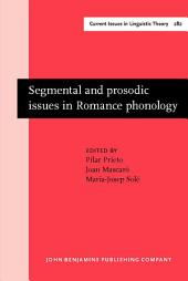 Segmental and prosodic issues in Romance phonology