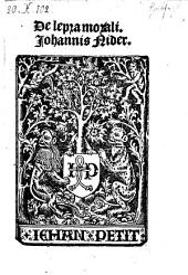 De lepra morali. - (Parisiis, ) Jehan Petit (1514).
