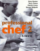 Professional Chef   Level 2   S Nvq Book