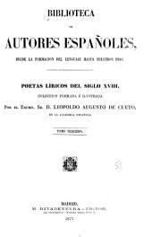 Poetas líricos del siglo XVIII: Volumen 67