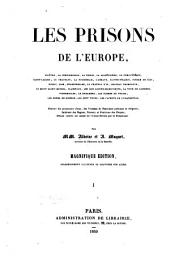 Les prisons de l'Europe: Volumes 1 à 2