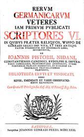 Rerum germanicarum scriptores aliquot insignes, ... ad usus publicos reducti: Volume 3
