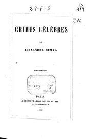 Crimes célèbres: 1840 (306 p.)