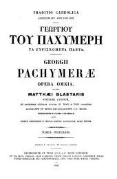 Patrologiae cursus completus ...: Series graeca, Volume 144