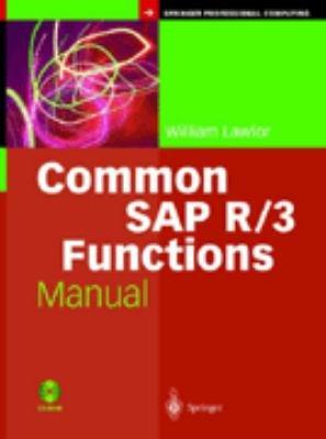 Common SAP R 3 Functions Manual PDF
