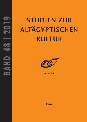 Studien zur Alt  gyptischen Kultur  Band 48 PDF