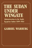 Sudan Under Wingate PDF