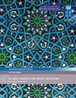 Islamic Finance and Impact Investing PDF