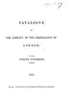 Catalogue      Supplement   Second fifteenth Supplement    PDF