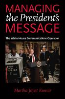 Managing the President s Message PDF