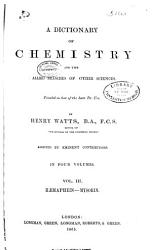 A Dictionary of Chemistry PDF