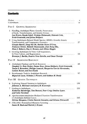 Arabidopsis Protocols PDF