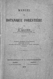 Manuel de botanique forestière