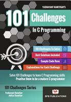 101 CHALLENGES IN C PROGRAMMING PDF