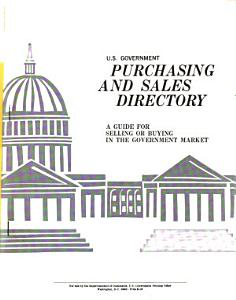 U S  Government Purchasing  Specifications  and Sales Directory PDF