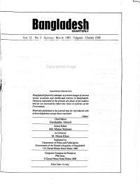 Bangladesh Quarterly
