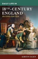 Daily Life in 18th Century England  2nd Edition PDF