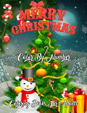 Merry Christmas Color By Number Coloring Books For Adults PDF