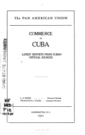 Commerce of Cuba