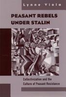 Peasant Rebels Under Stalin PDF