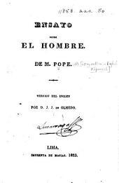 Ensayo sobre el Hombre ... Versión del inglés por D. J. J. de Olmedo