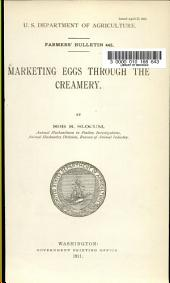 Marketing Eggs Through the Creamery