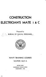 Construction Electrician's Mate 1 & C