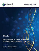 Cima Ba4 Fundamentals of Ethics  Corporate Governance and Business Law Study Text PDF