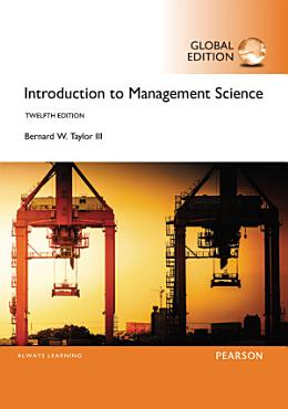 Introduction to Management Science  Global Edition PDF