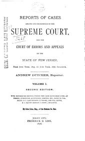 New Jersey Law Reports: Volume 25