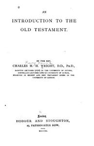 An Introduction to the Old Testament PDF