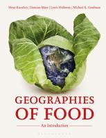 Geographies of Food PDF