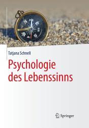 Psychologie des Lebenssinns PDF