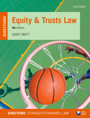 Equity and Trusts Law Directions PDF