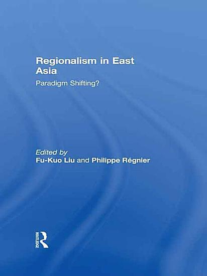 Regionalism in East Asia PDF